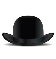 Bowler hat vector image