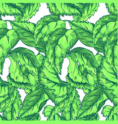 appleflower sketch pattern1-02 vector image