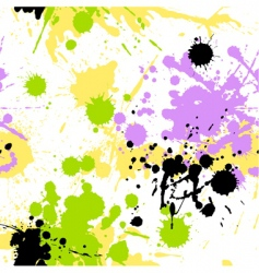 blots pattern vector image vector image