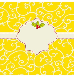 Cheerful card vector image vector image