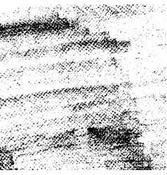 grunge real organic vintage halftone ink print vector image vector image