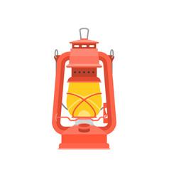 hurricane lantern vector image vector image