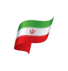 iran flag vector image