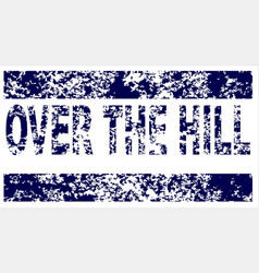 Over the hill vector