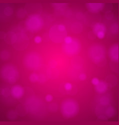 shiny bright pink lights blurred background vector image vector image