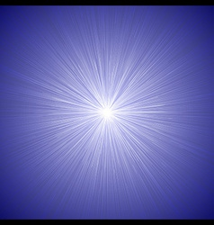 Radial speed lines graphic effects background blue vector