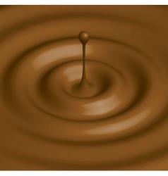 Chocolate hot vector