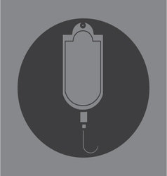 Current saline shortage icon symbol vector