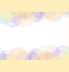 Petal abstract transparent vector