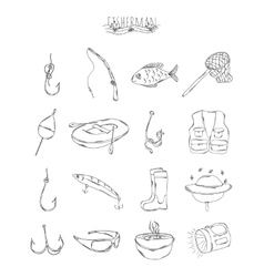 Professional collection of icons and elements vector image vector image