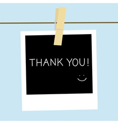 Thank you1 vector image