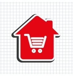 Home icon design vector