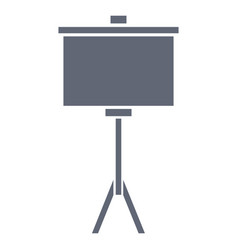 portable whiteboard symbol vector image