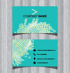 Abstract business card design 2204 vector