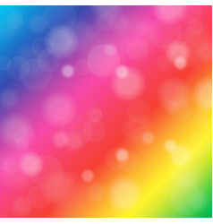 abstract blurred background of rainbow shiny vector image