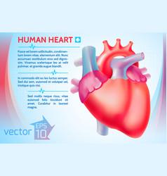 Healthy medicine template vector