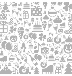 Holiday a background vector image