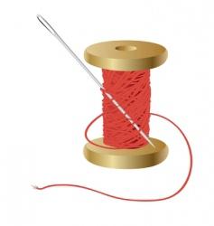 needle vector image vector image