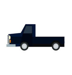 pickup truck off road 4x4 auto vehicle modern suv vector image