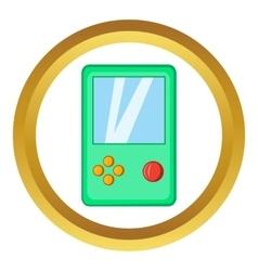 Tetris icon vector