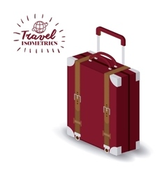 travel vacations design vector image vector image