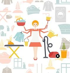 Housekeeper vector