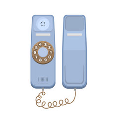 office telephone icon vector image vector image