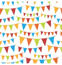 party bunting vector image vector image