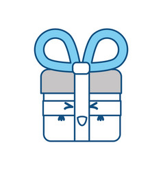 Shopping gift symbol vector
