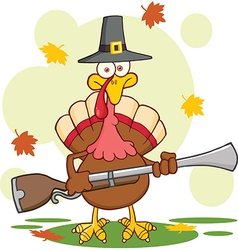 Thanksgiving cartoon vector image