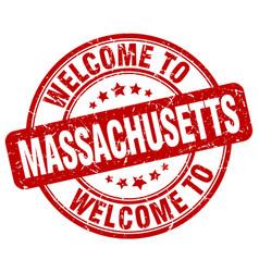 Welcome to massachusetts vector