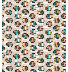 Seamless pattern with spheres vector image vector image
