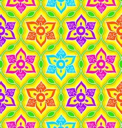 Seamless Rangoli pattern vector image vector image