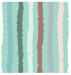 sketchy stripes seamless pattern vector image