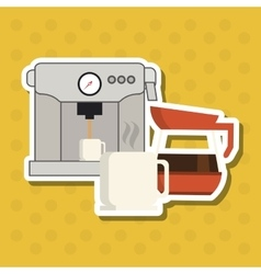 Coffee shop icon design vector