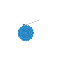 flat icon crochet element of vector image vector image