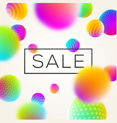 Sbstract background with sale banner vector