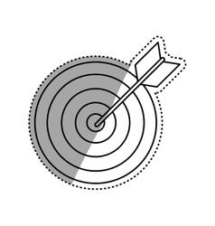 Target dartboard goal vector