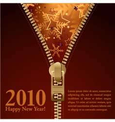 2010 new year background vector image vector image