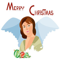 Christmas-card-11 vector
