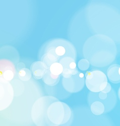 Abstract bokeh light blue background vector