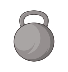 Sports weight icon cartoon style vector