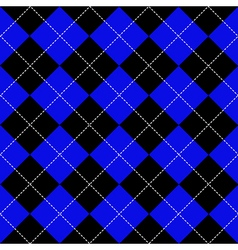 Blue black diamond background vector
