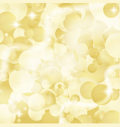 Blurred glitter bokeh pattern vector