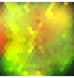 Colorful shiny geometric background vector image vector image