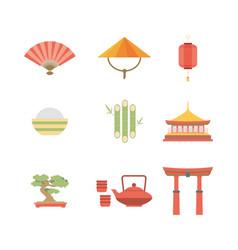 China flat icons design travel vector
