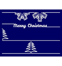 Christmas borders - dividers vector