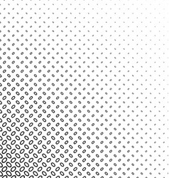 Black white diagonal ellipse pattern background vector