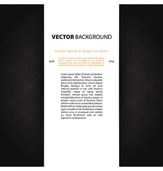 Dark design template vector image vector image