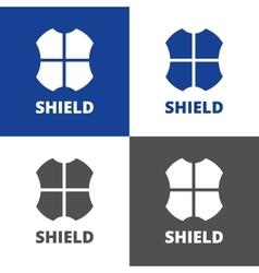 Shield logo vector